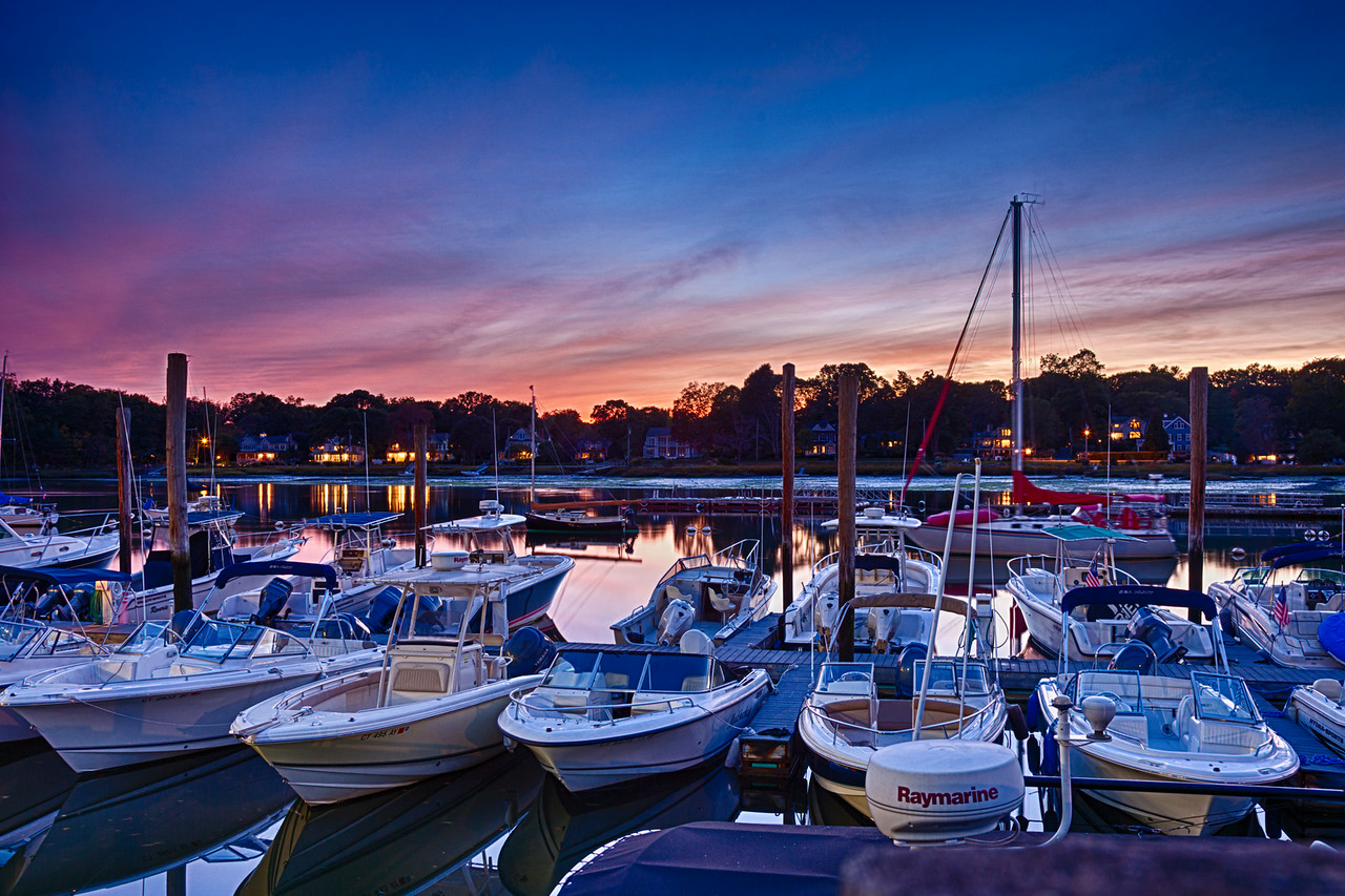 Boats after Sunset