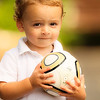 Of White Polo and Jobulani : A little boy, a polo shirt, and a Soccer ball