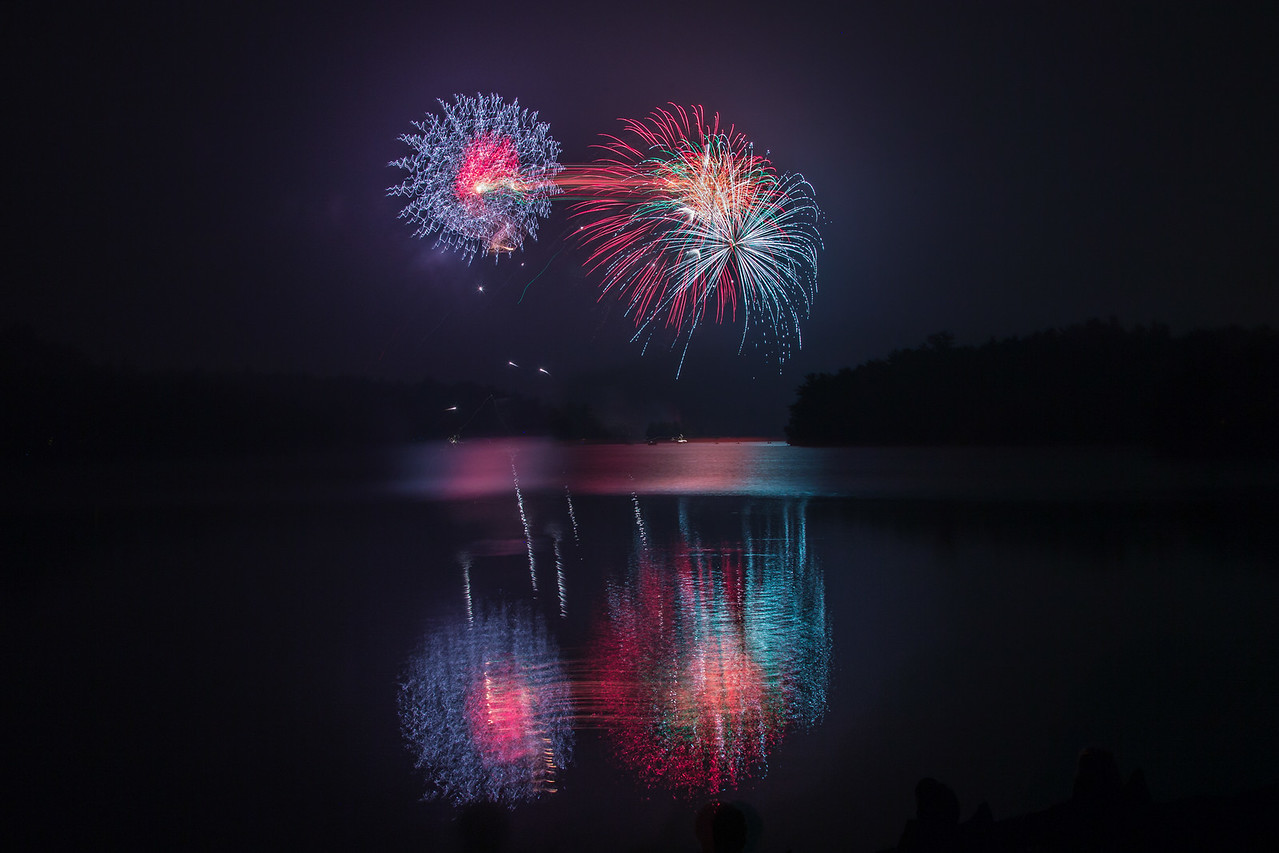 Fireworks by the Lake