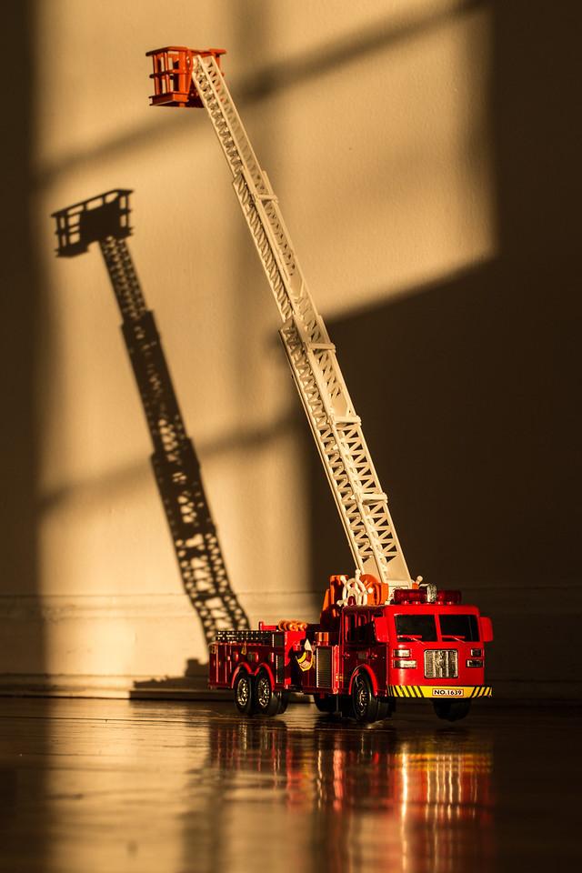 Sunset firetruck where is Lucas